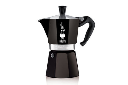Bialetti Moka Express Colour zwart 300 ml percolator