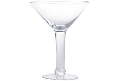 GIANT CHAMPAGNE COUPE D19,5XH25CM GLASS