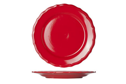 JULIET RED DESSERTBORD BLINKEND D21.6CM