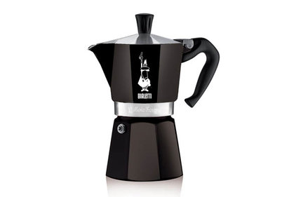 Bialetti Moka Express Colour zwart 200 ml percolator