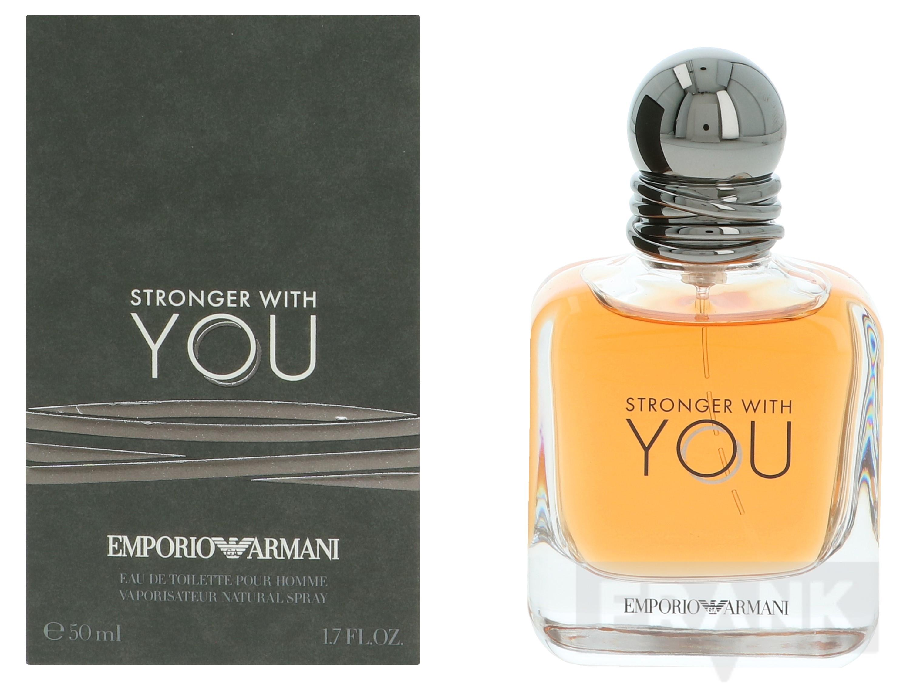Armani Stronger With You Pour Homme Edt Spray