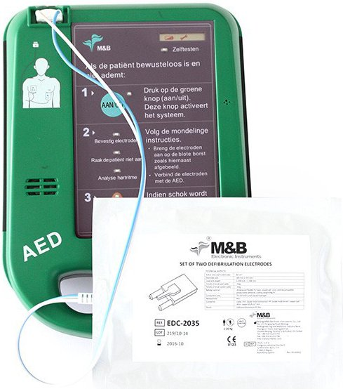 M & B Electronic Instruments AED 7000