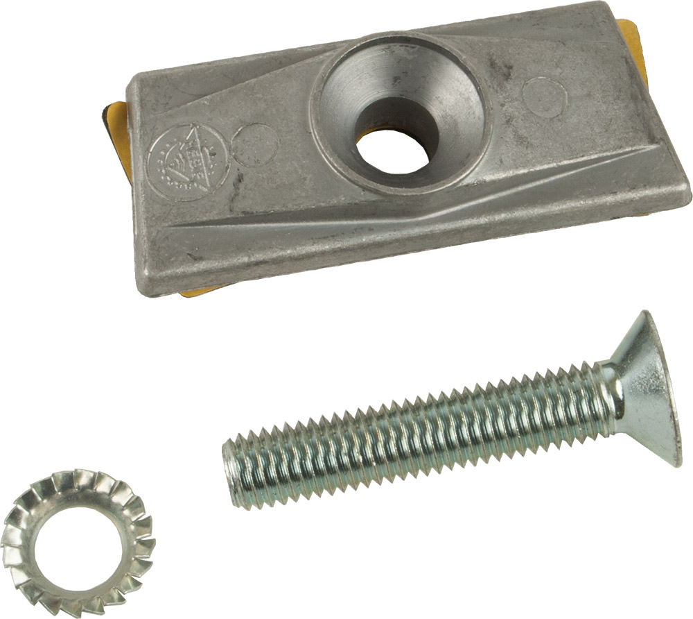 HEBIE POSITION PLATE M / BOLT 10MM DOUBLE BOOT 699