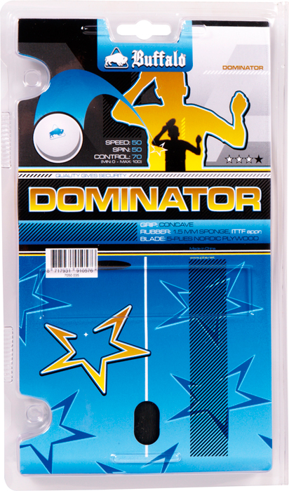 Tafeltennis bat Buffalo Dominator