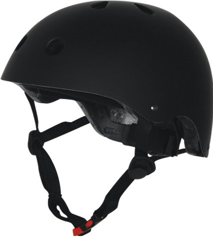 Kiddimoto Biker Black kinderhelm