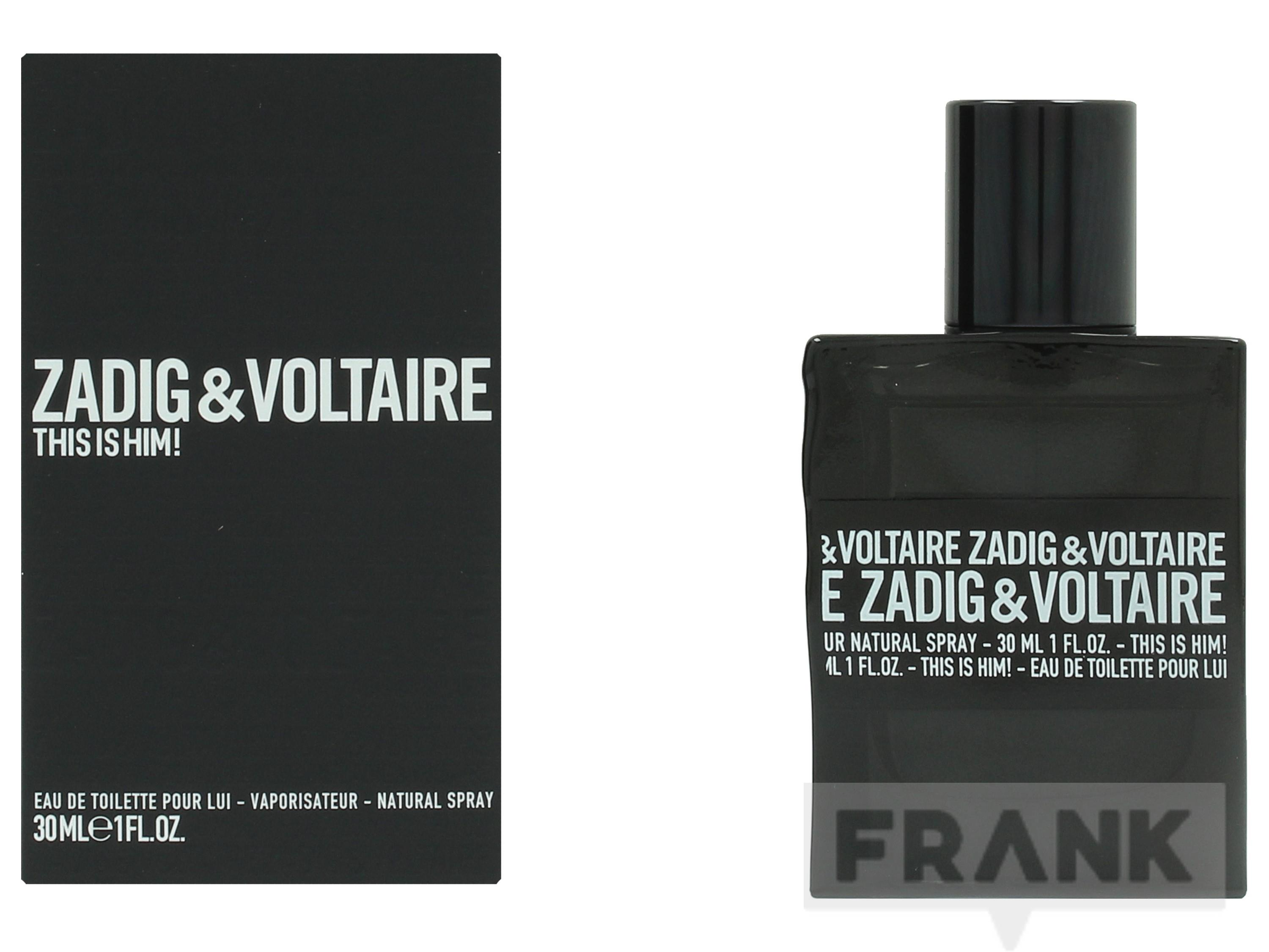 Zadig & Voltaire This Is Him Spray EDT