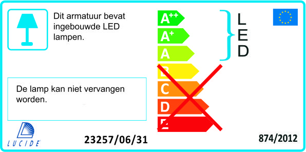Lucide - SIGMA - Hanglamp - 23460/33
