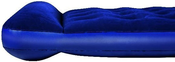 Bestway Flocked Easy Inflate Double Camping luftmadrass
