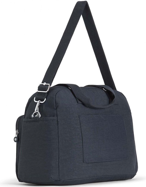 Kipling July Navy weekendtas blauw