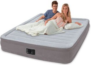 Intex Comfort-Plush Mid Rise Airbed Queen