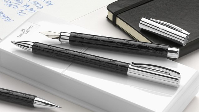Faber-Castell Ambition Rhombus rollerball