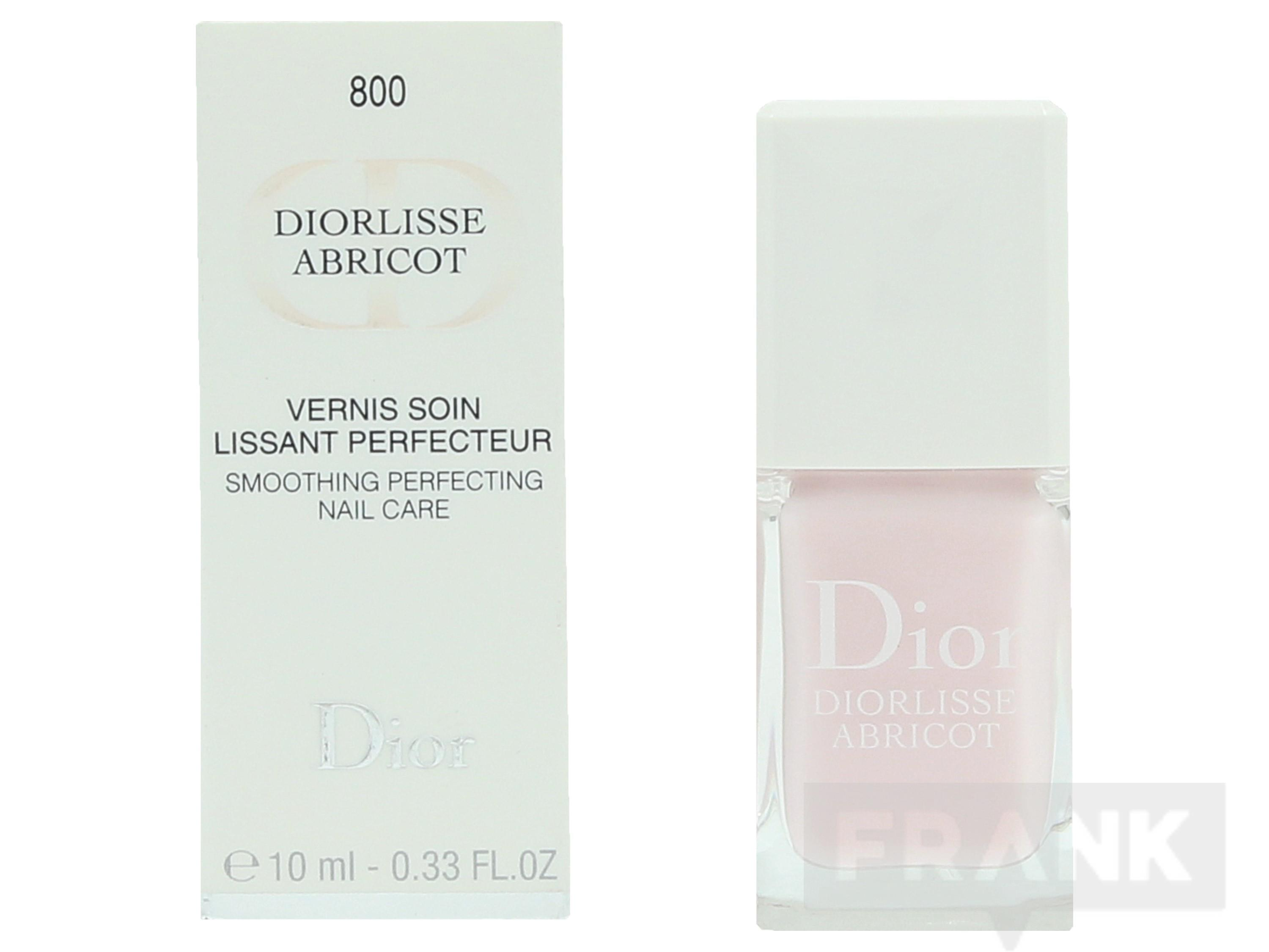 C.Dior Diorlisse Abricot Smoothing Perf. Nail Care 10ml