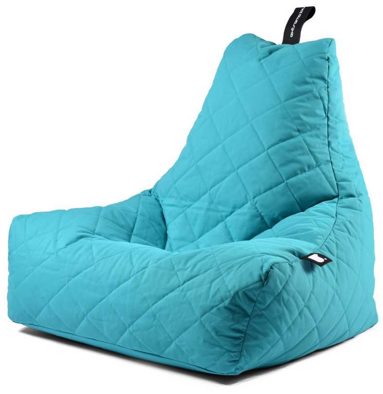 Extreme Lounging B-bag Mighty-b Quilted (Kleur: aqua blauw)