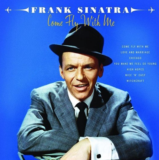 Frank Sinatra - Come Fly With Me dubbelle langspeelplaat