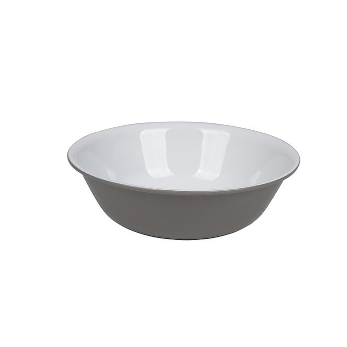 Bo-Camp - Kom - Rond - 100% Melamine - Two-tone taupe