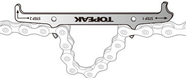 Topeak Chain Hook & Wear Indicator