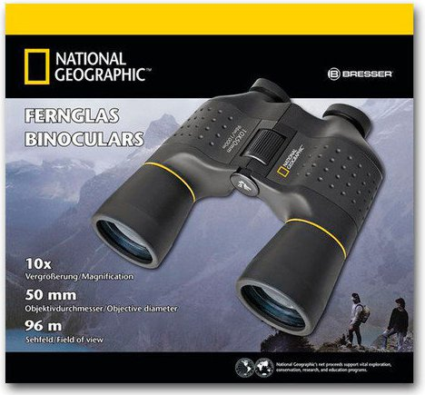 National Geographic 10 X 50 Jumelles Porro
