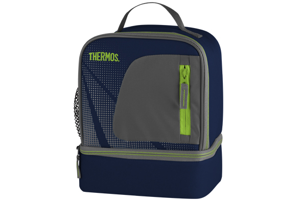 Thermos Radiance Dual Compartment blauw lunchkit