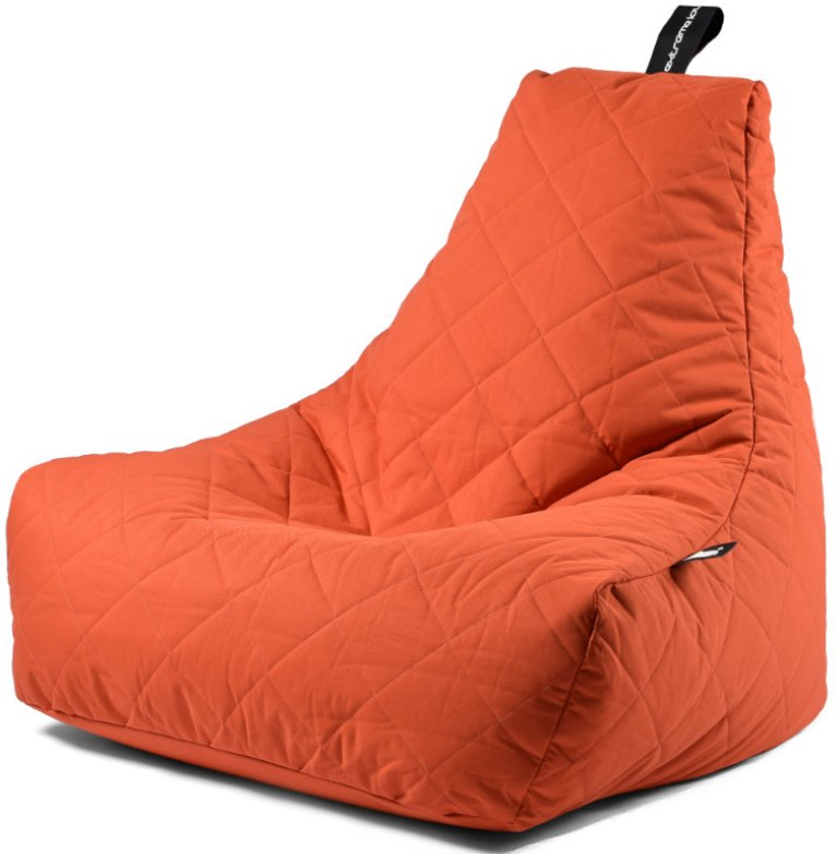 Extreme Lounging B-bag Mighty-b Quilted (Kleur: oranje)