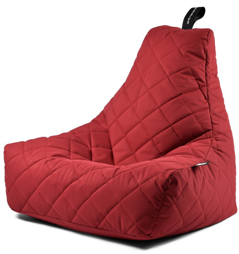 Extreme Lounging B-bag Mighty-b Quilted (Kleur: rood)