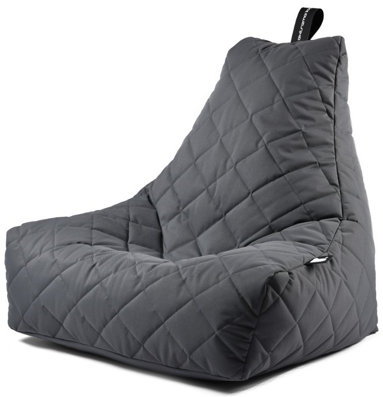 Extreme Lounging B-bag Mighty-b Quilted (Kleur: grijs)