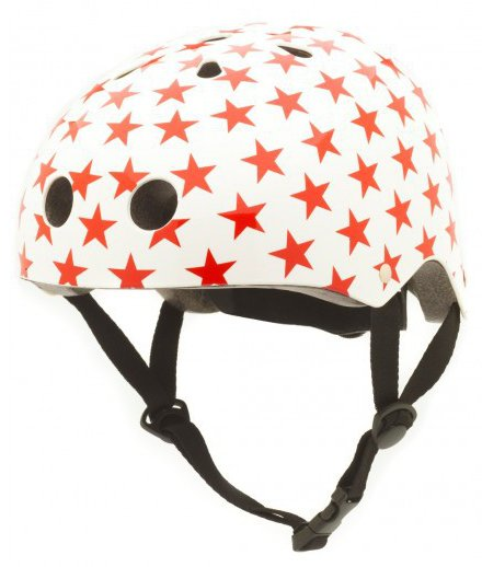 CoConuts Red Stars Child's helmet