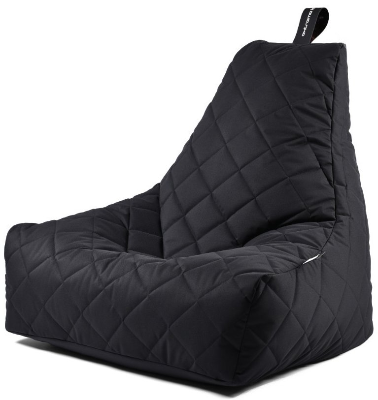 Extreme Lounging B-bag Mighty-b Quilted (Kleur: zwart)