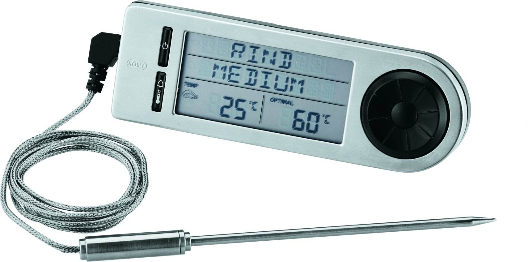 R?sle digitale thermometer