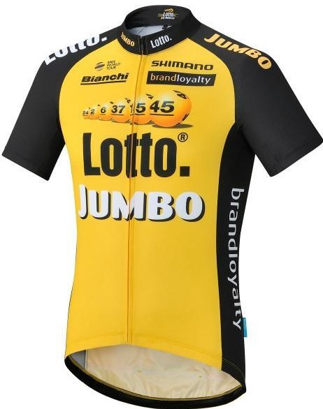 Shimano Team Lotto Jumbo Replica shirt Retro