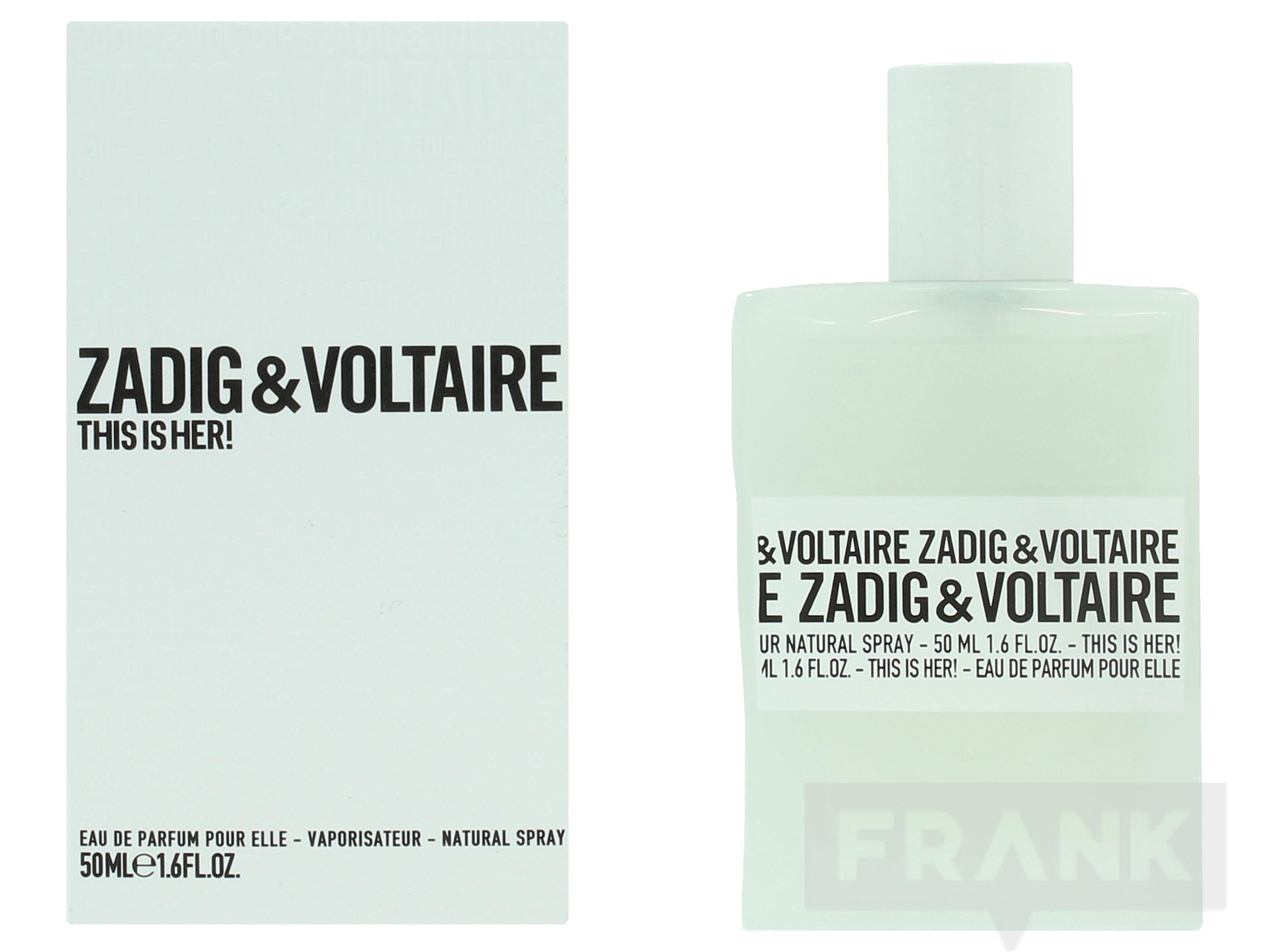 Zadig & Voltaire This Is Her Spray EDP