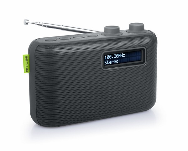 Muse M-108DB radio black