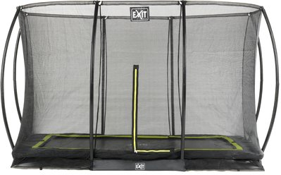 EXIT Silhouette Ground trampoline set rectangle