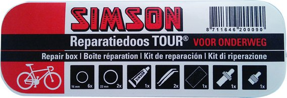 Simson rep ds Tour met clip