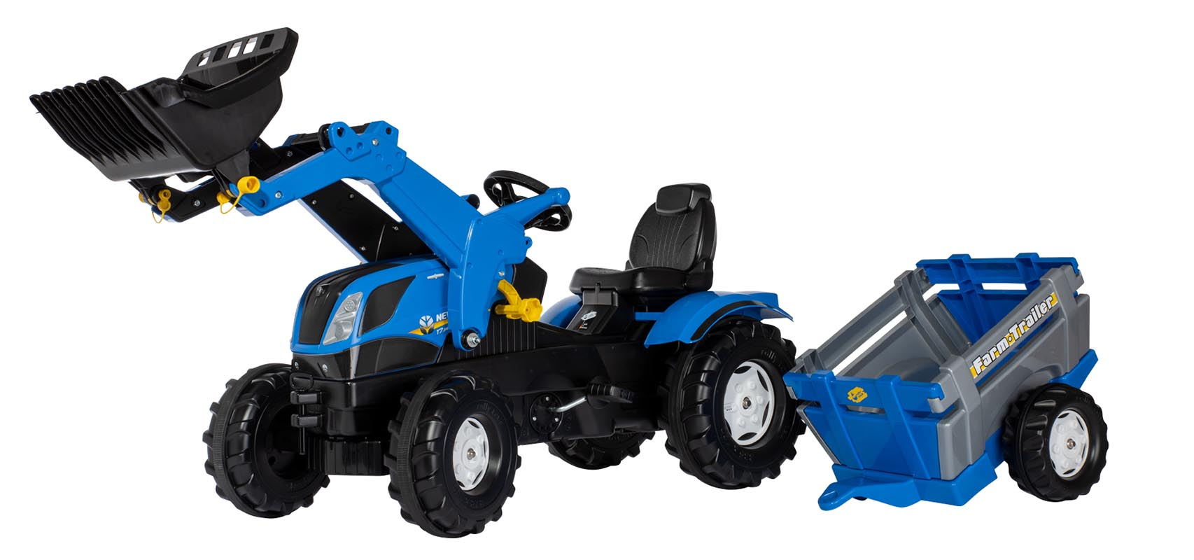 Rolly Toys Farmtrac New Holland traptractor