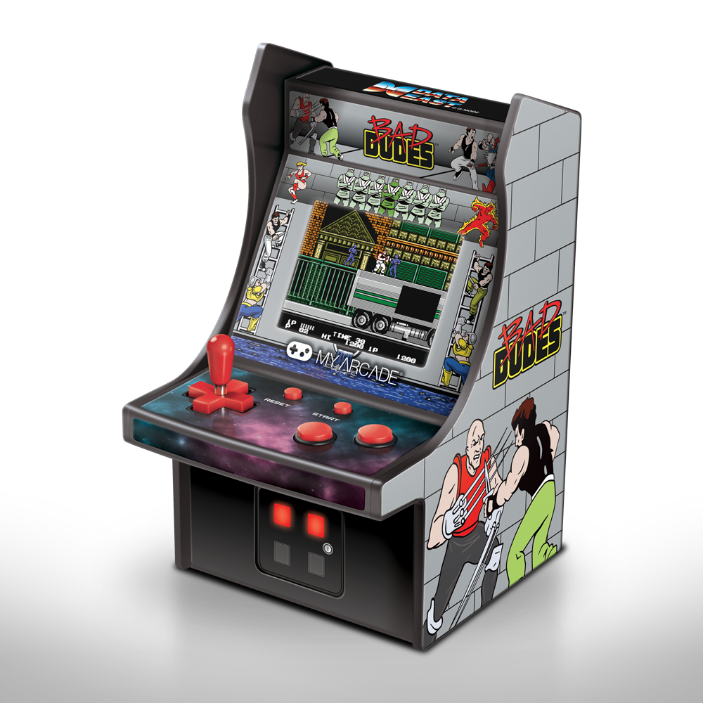 My Arcade DGUNL-3214 Retro Bad Dudes spelsysteem