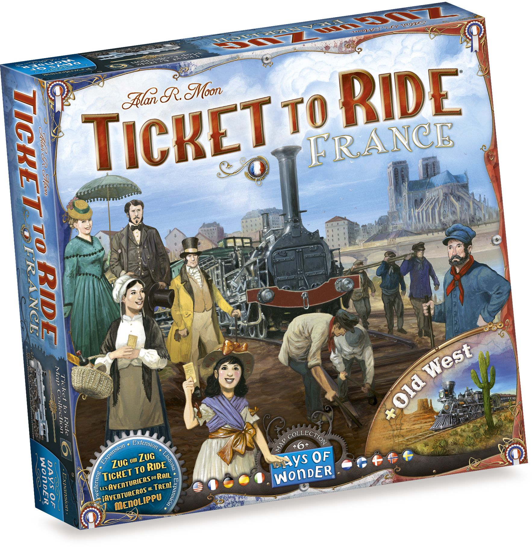Ticket to Ride - France/Old West