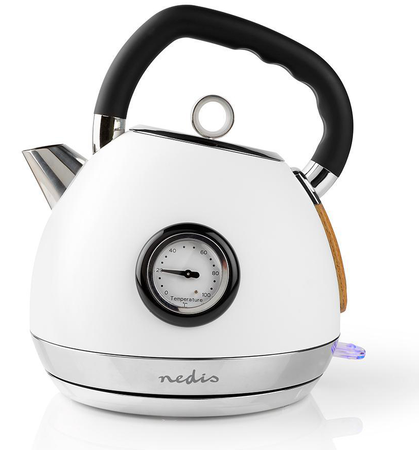 Nedis Soft-Touch waterkoker met thermometer - 1,8 L