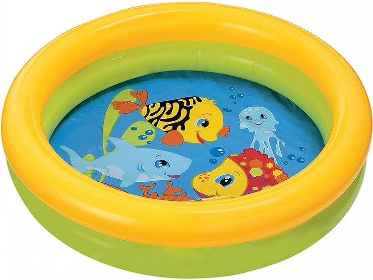 My First Pool babyzwembad geel