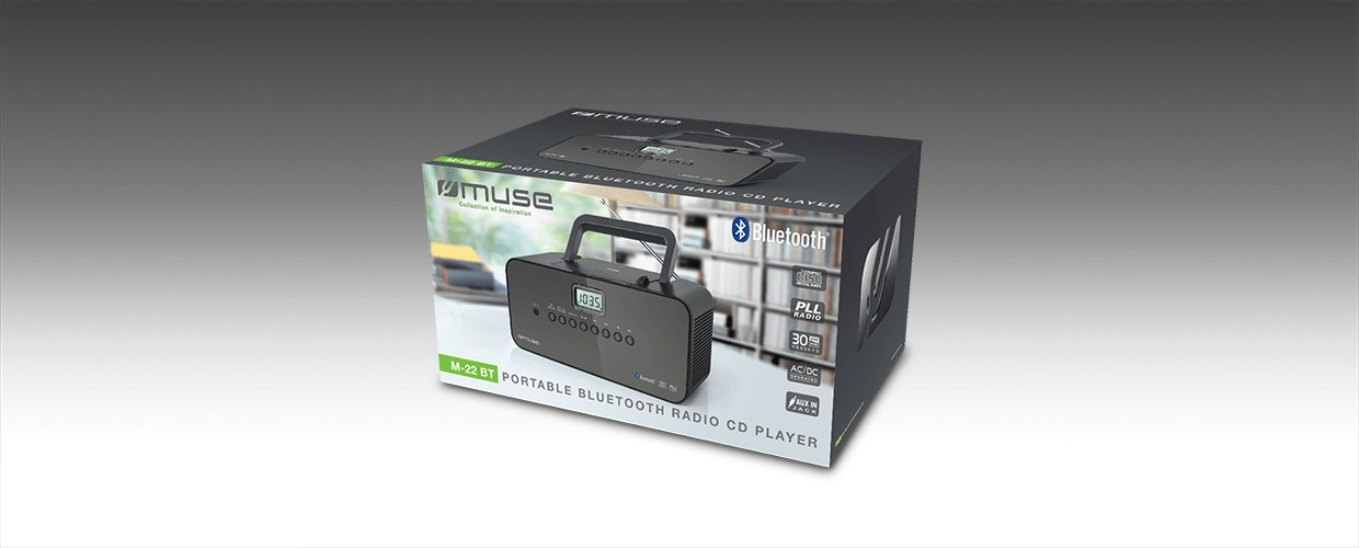 Muse M-22BT radio