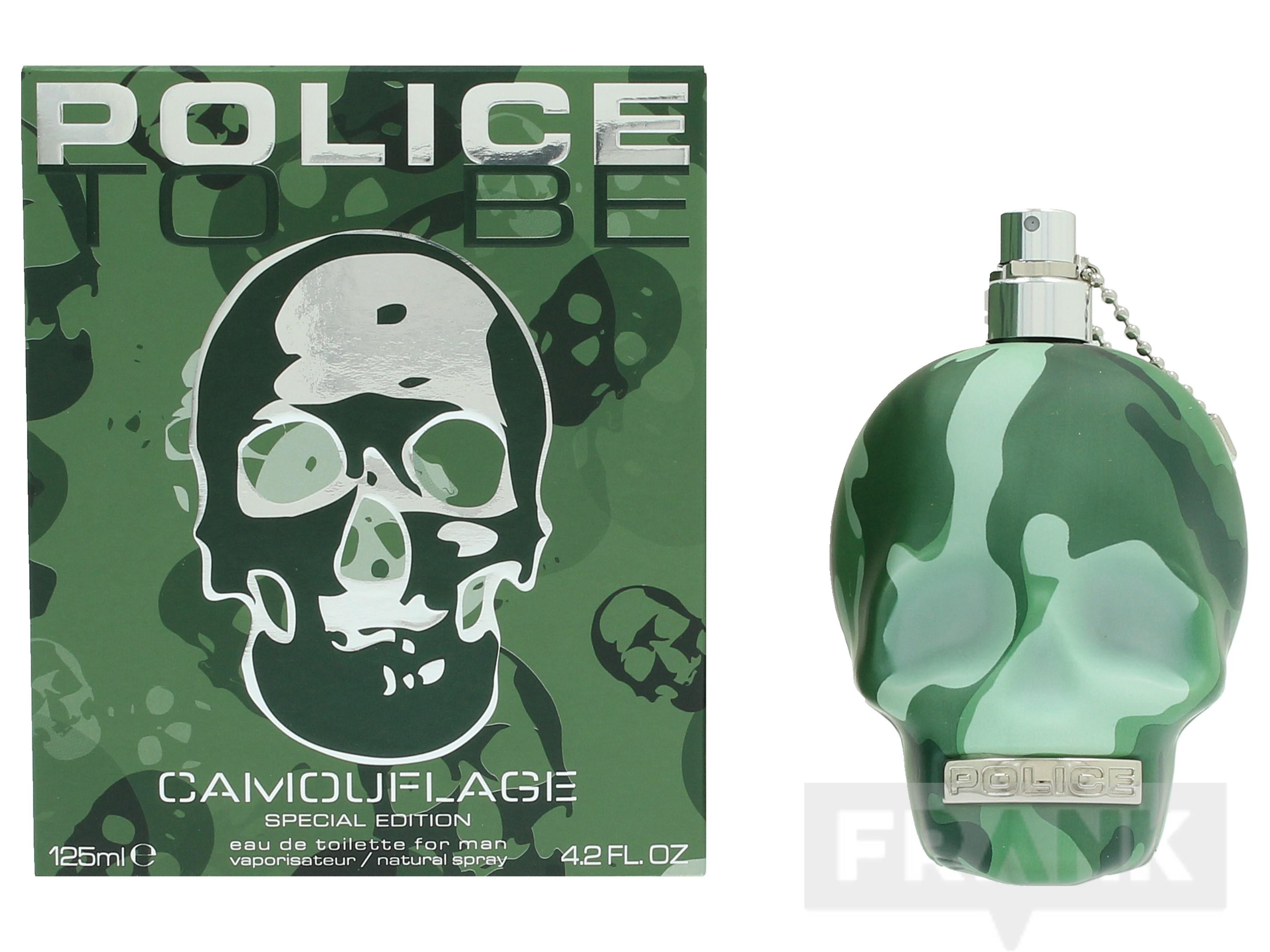 Police To Be Camouflage For Man Spray EDT